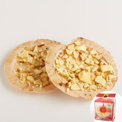 画像1: りんご南部せんべい(8枚入り)