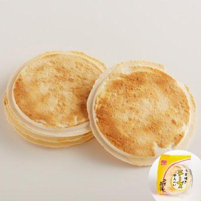 画像1: うす焼きチーズ南部せんべい(8枚入り)