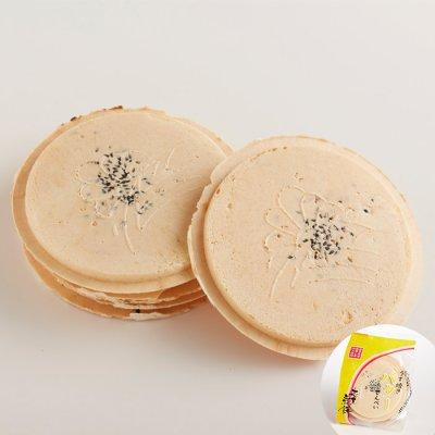 画像1: うす焼きバター南部せんべい(8枚入り)
