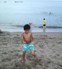 【海の日~!!】